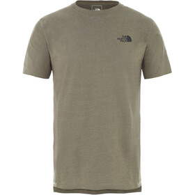 The North Face North Dome Active S/S Shirt Men, burnt olive green heather